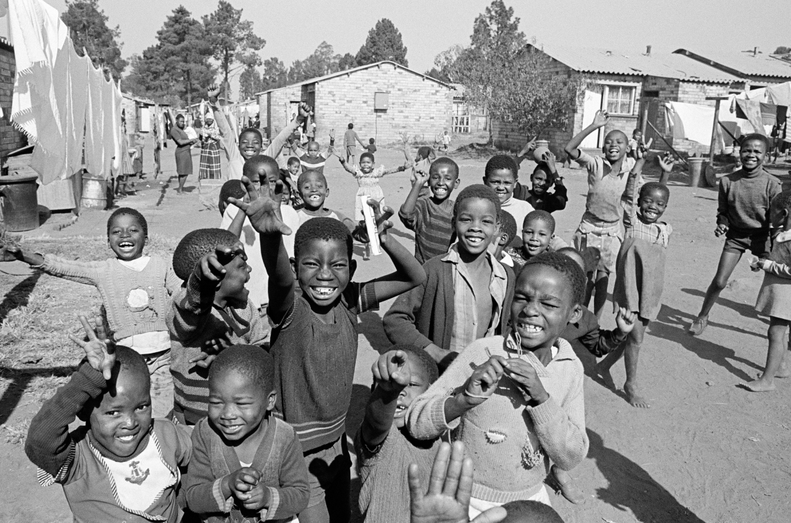 Soweto Township Children